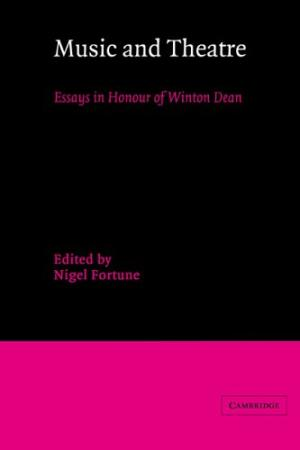 music and theatre essays in honour of winton dean scenography today music and theatre essays in honour of winton dean