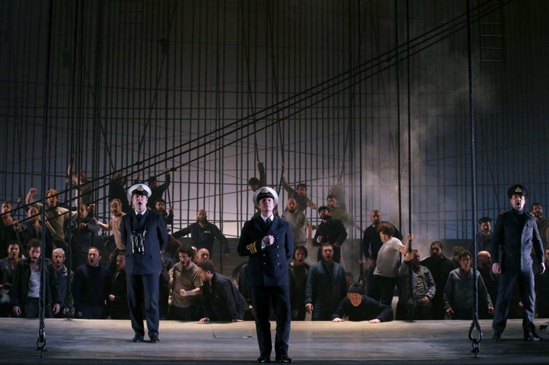Michael Levine, Billy Budd | Ph: Javier del Real / Teatro Real de Madrid