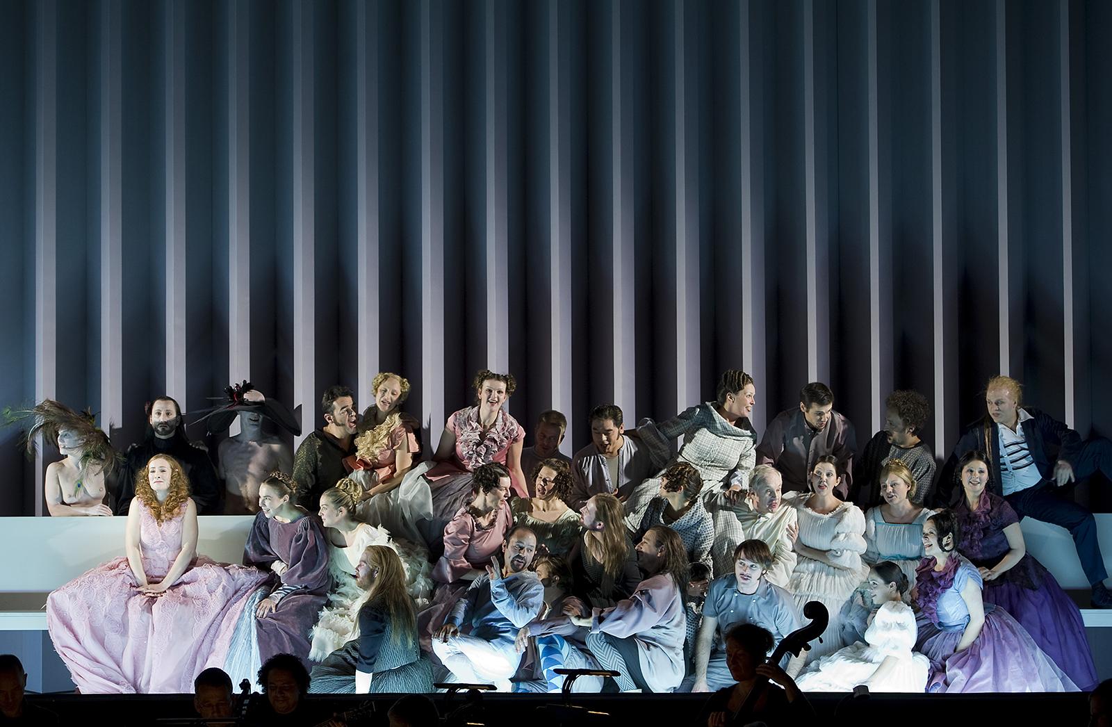 Katrin Lea Tag, Dido and Aeneas | Staging Barrie Kosky | Photo © Monika Rittershaus