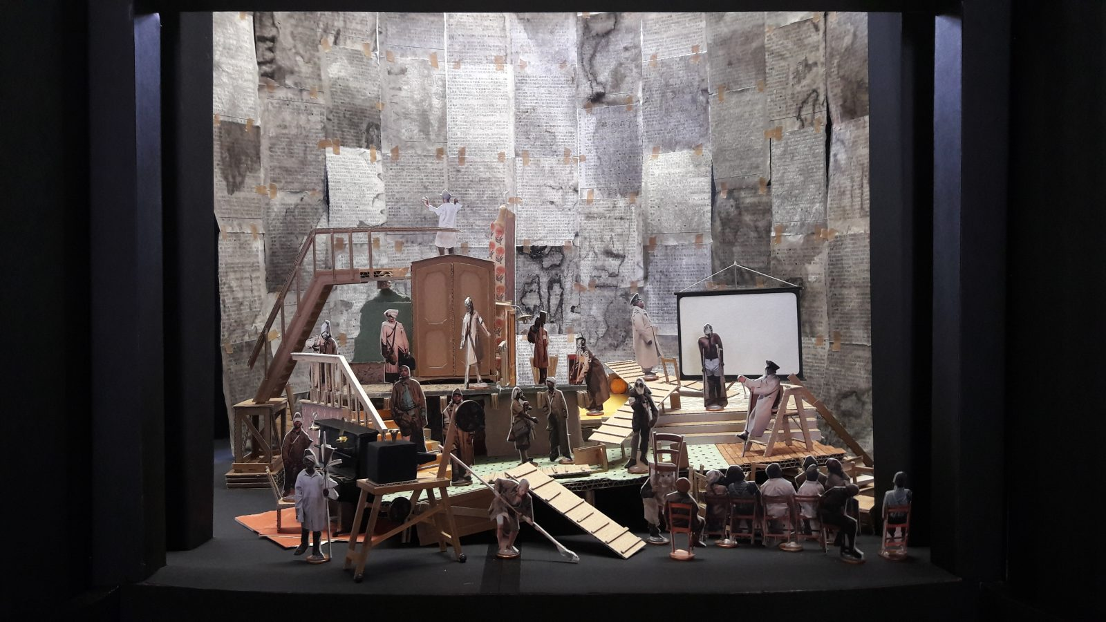 William Kentridge and Sabine Theunissen, Wozzeck | © Sabine Theunissen, courtesy of the author