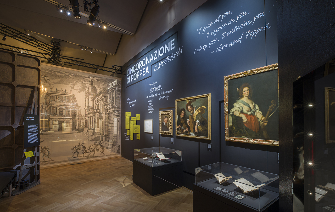 Opera: Passion, Power and Politics installation image | © Victoria and Albert Museum, London