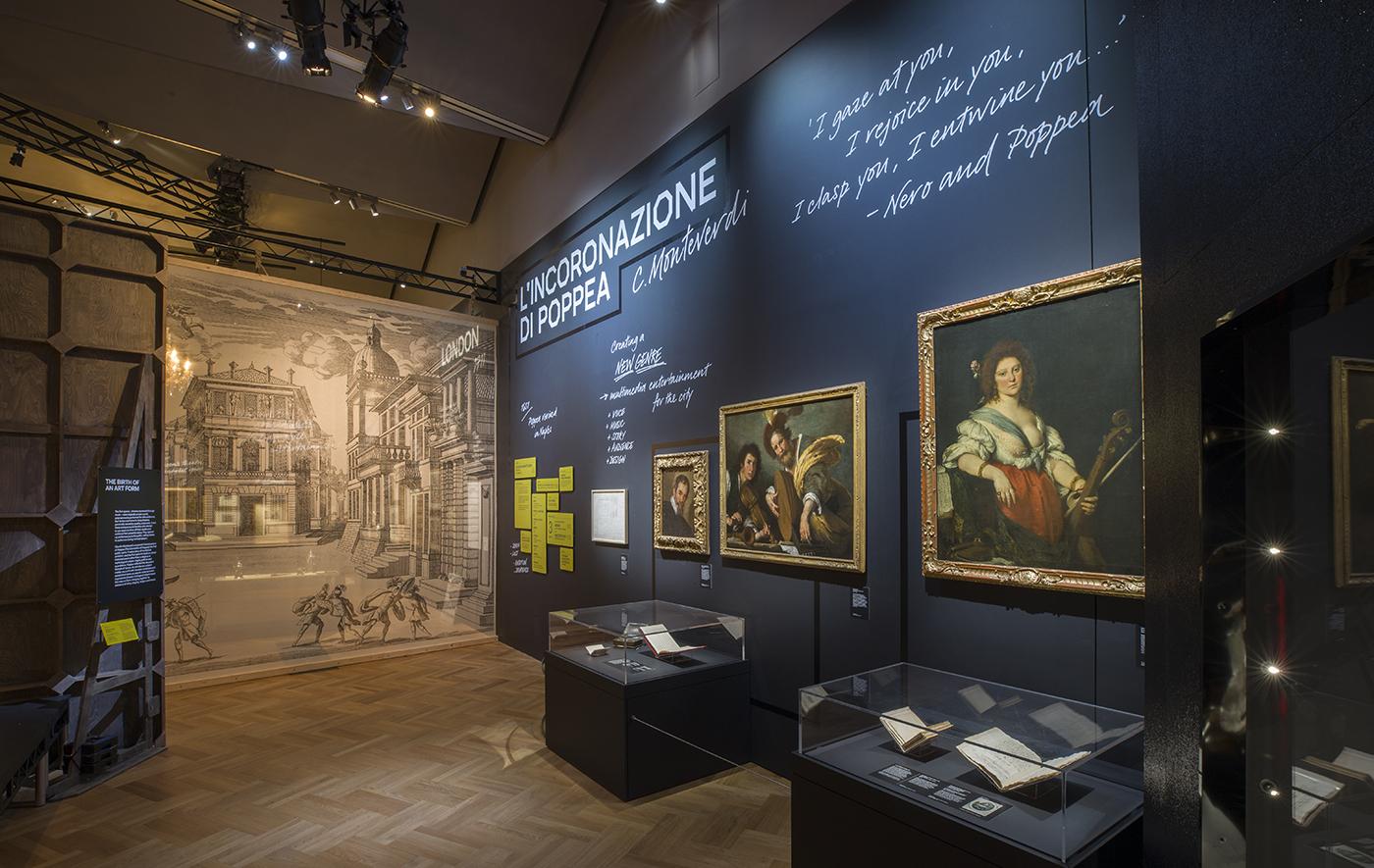 Opera: Passion, Power and Politics installation image | © Victoria and Albert Museum, London