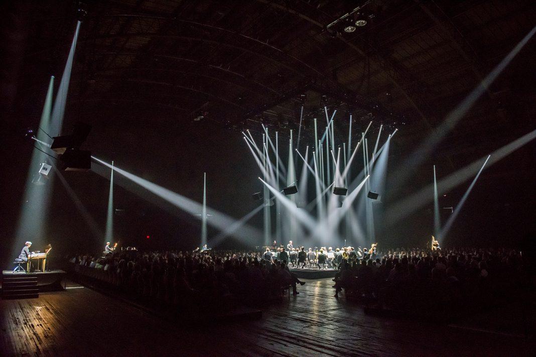 Urs Schönebaum, Répons at Park Avenue Armory   Mise-en-espace by Pierre Audi   Photo by Stephanie Berger ©