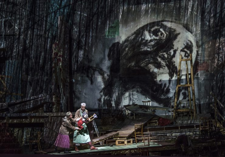Sabine Theunissen, Wozzeck | Dir. William Kentridge | Salzburger Festspiele 2017 | © SF / Ruth Walz
