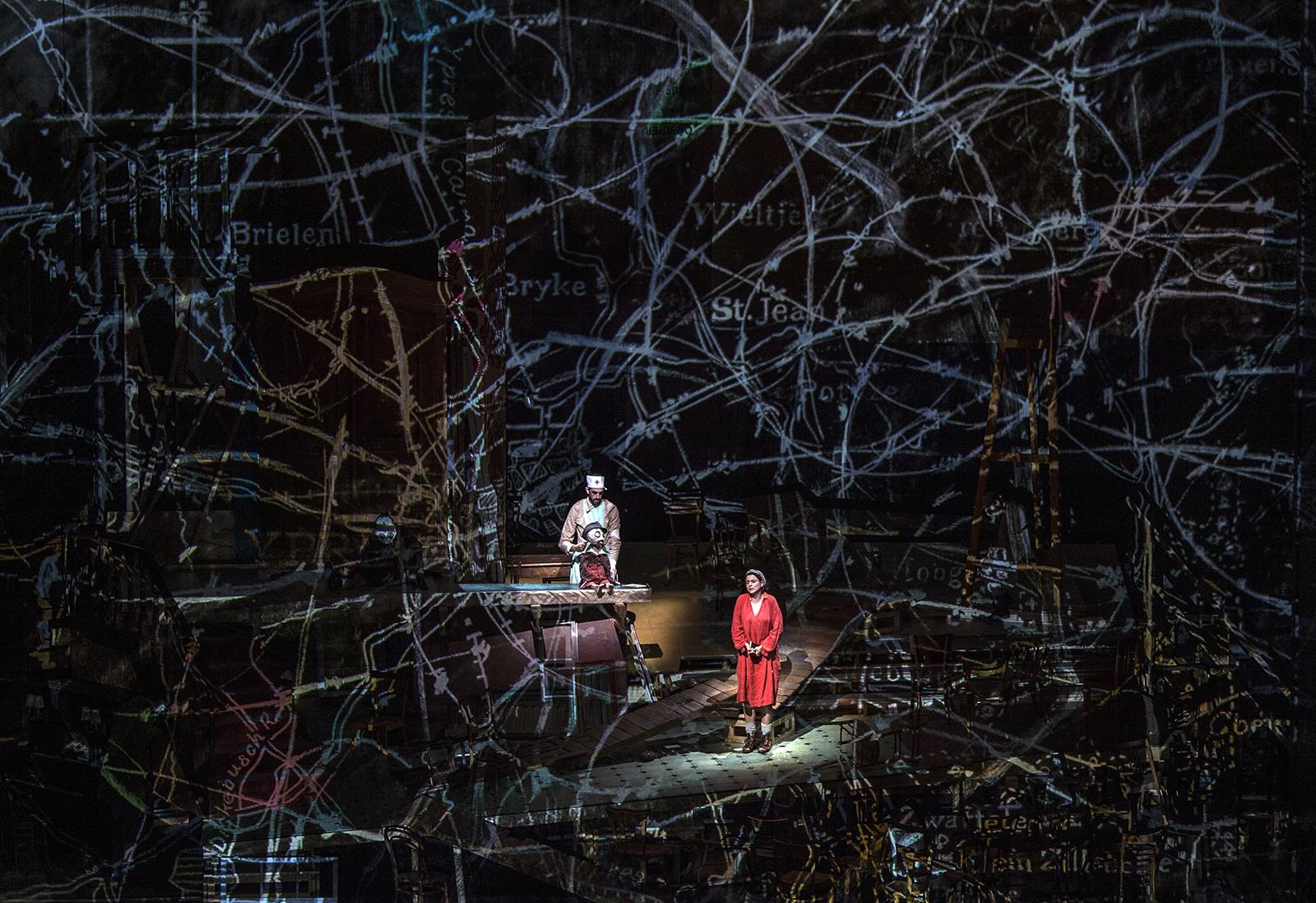Sabine Theunissen, Wozzeck | Salzburger Festspiele 2017 | © SF / Ruth Walz