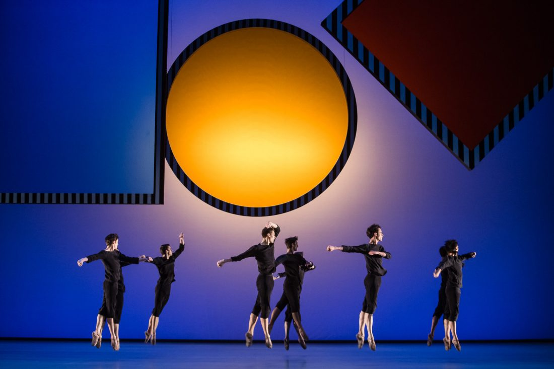 Daniel Buren, Daphnis et Chloé | Choreography by B. Millepied |Photo © Agathe Poupeney / OnP