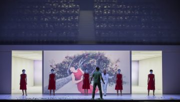 Set design Paolo Fantin, La Damnation de Faust | Staged by D. Michieletto | Photo © Yasuko Kageyama / TOR