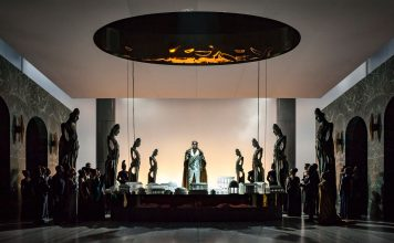 Gary McCann, La Clemenza di Tito | Staged by F. Ceresa | Photo © Alan Humerose