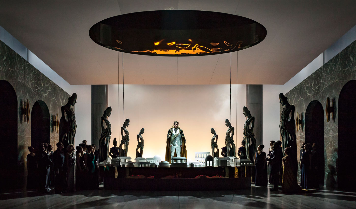 Gary McCann, La Clemenza di Tito | Staged by F. Ceresa | Photo © Alan Humerose