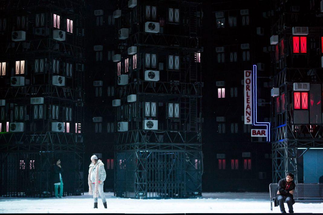 Alfons Flores, La Bohème | Staged by À. Ollé / La Fura dels Baus | Photo Ramella & Giannese © Teatro Regio Torino