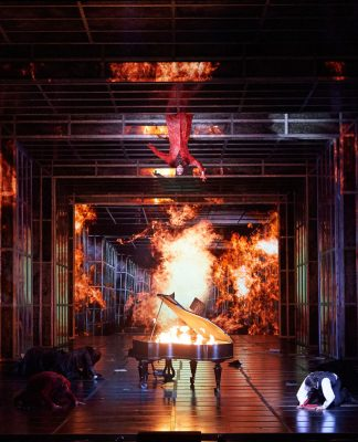 Gary McCann, Der Freischütz   Directed by C. Räth   Photo © Wiener Staatsoper GmbH / Michael Pöhn