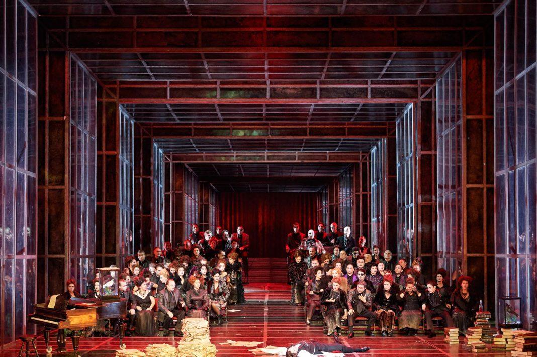 Gary McCann, Der Freischütz | Directed by C. Räth | Photo © Wiener Staatsoper GmbH / Michael Pöhn