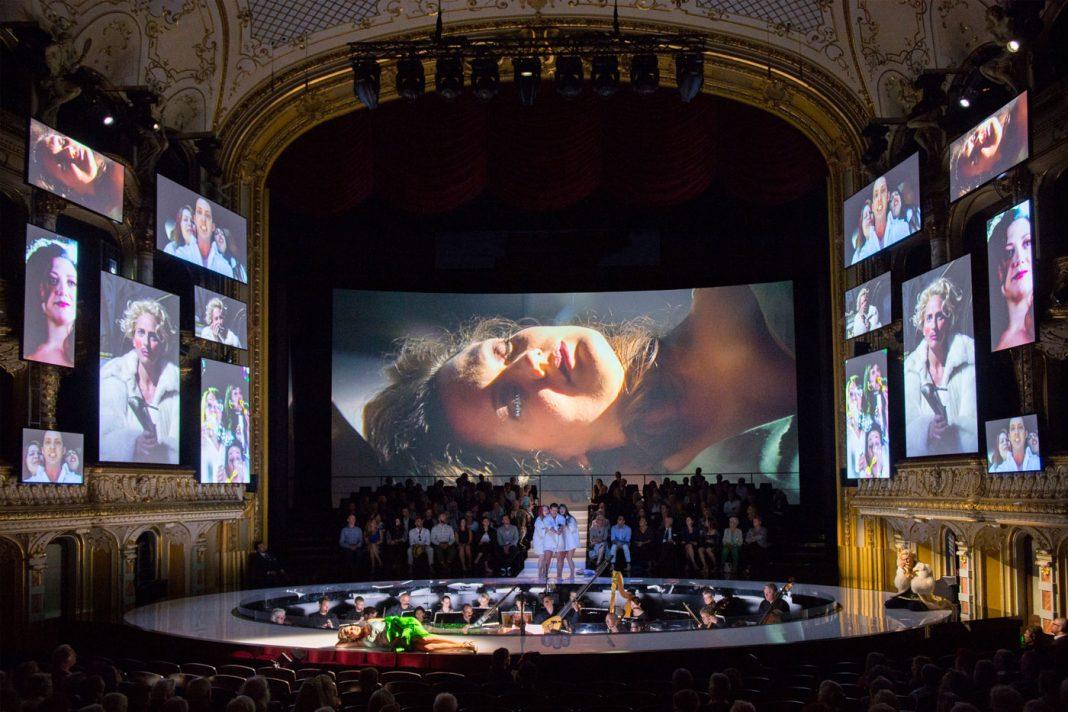 Rebecca Ringst, L'incoronazione di Poppea   Dir. C. Bieito   Photo © Monika Rittershaus