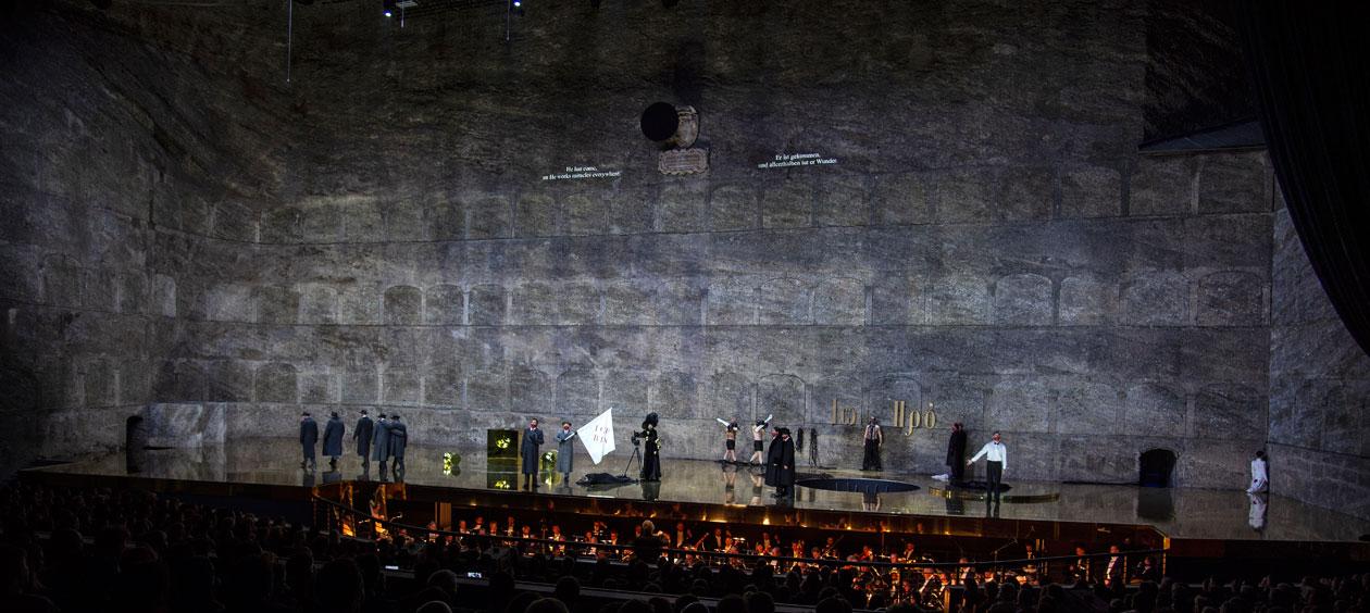 Romeo Castellucci, Salome | Photo © Salzburger Festspiele / Ruth Walz