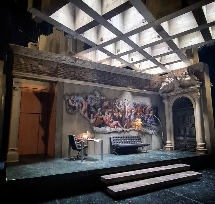 Gary McCann, Tosca | Directed by Michael Gieleta | set design magazine