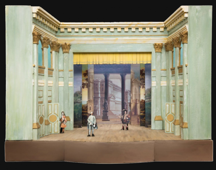 Drury Lane Royal Theatre | Model from the exhibition Scenamadre | Created by Chantal Buratore, Elena Ronco