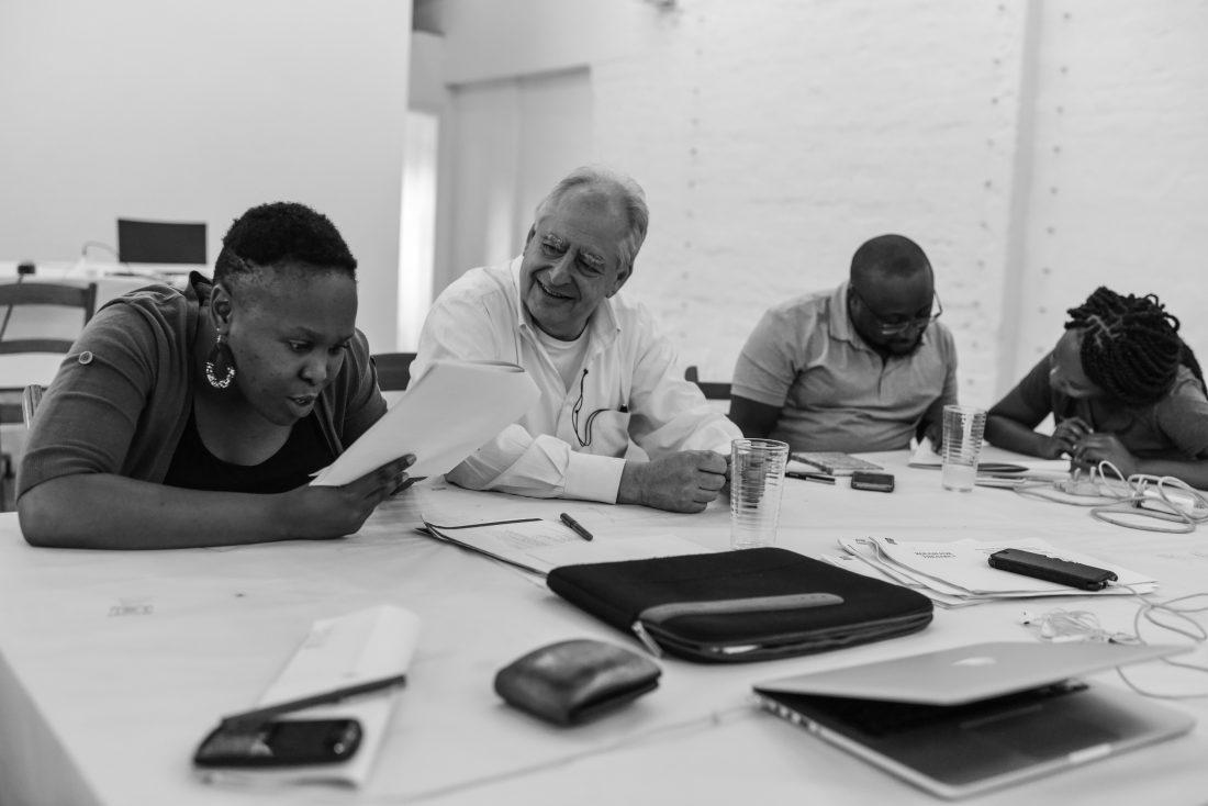 The Centre for the Less Good Idea, William Kentridge Scenography Todays set design magazine UNITA program