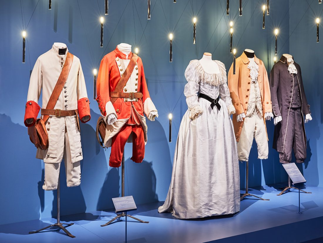 Costumes from Barry Lyndon | © Ed Reeve for the Design Museum