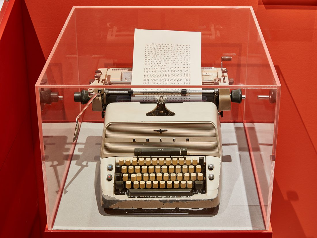 Jack's typewriter from The Shining, original prop | © Ed Reeve for the Design Museum