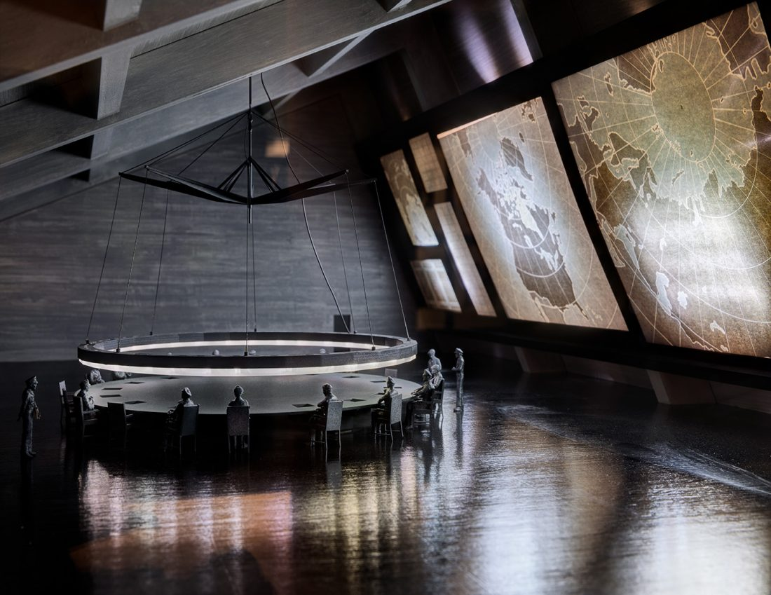 War Room model from Dr. Strangelove | © Ed Reeve for the Design Museum