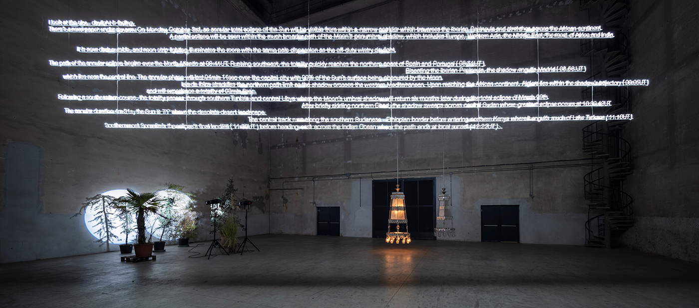 "Cerith Wyn Evans, ""....the Illuminating Gas"""
