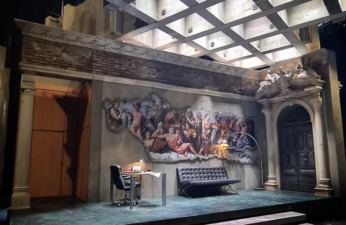 Gary McCann, Tosca   Directed by Michael Gieleta   set design magazine