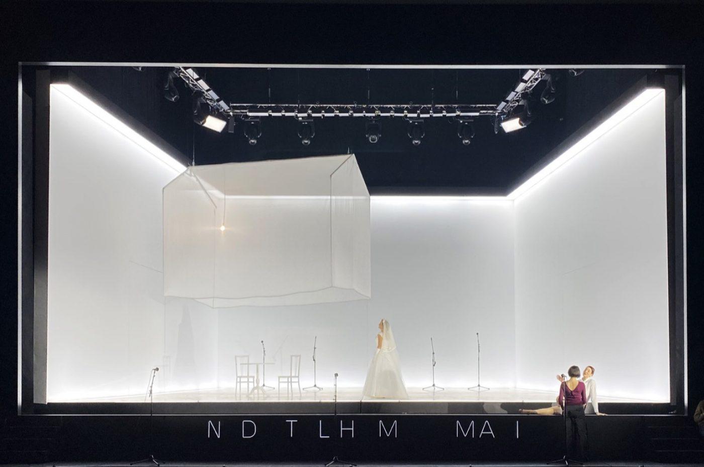 Paolo Fantin, Béatrice et Bénédict | Dir. Damiano Michieletto | Photo © Gianluca Ciriaci