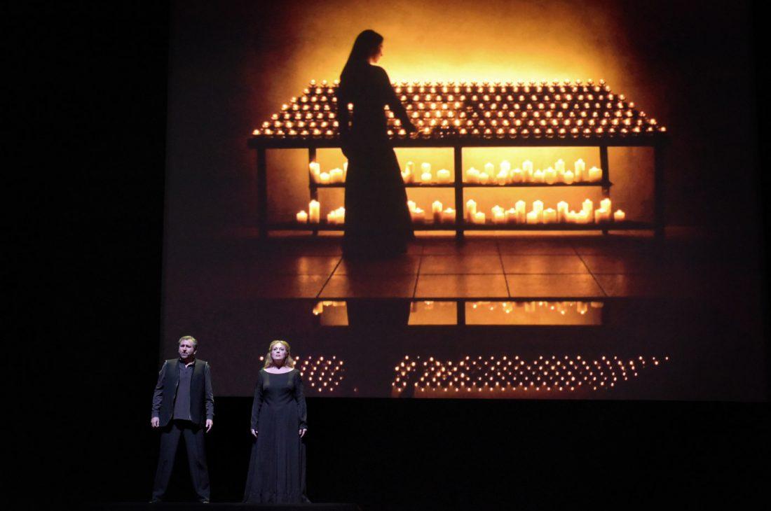 Bill Viola, Tristan und Isolde | © Vincent Pontet / Opéra national de Paris